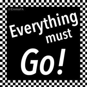 🚩 Everything must GO! 🚩